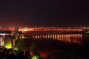 Omsk de noche